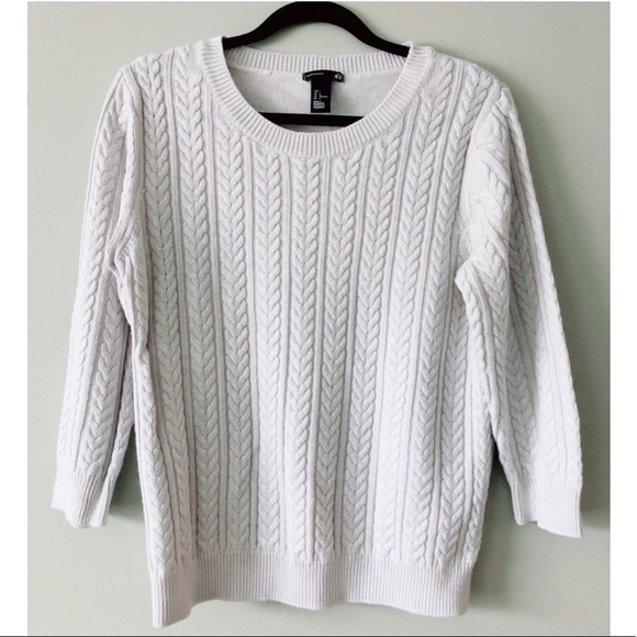 H&M | Cable Knit Sweater